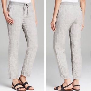 Standard James Perse Grey Linen Pants Size Small